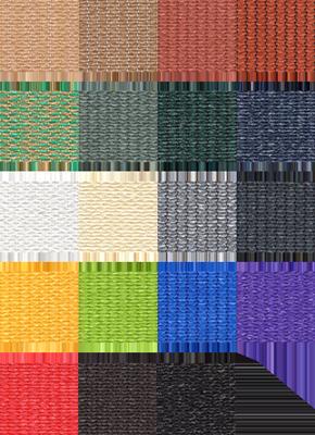 Chất liệu vải thông dụng làm mái che nhà kính