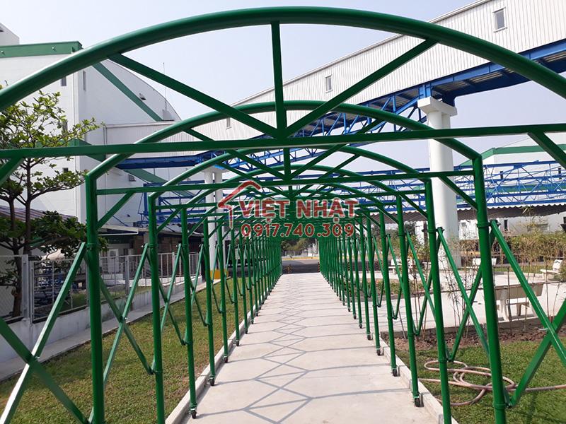 Lối đi bộ nhà máy Sankyo - Khu Công nghệ cao Quận 9