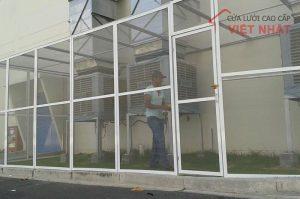 Cửa lưới chống muỗi công nghiệp