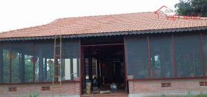 Cửa lưới chống muỗi khu công nghiệp