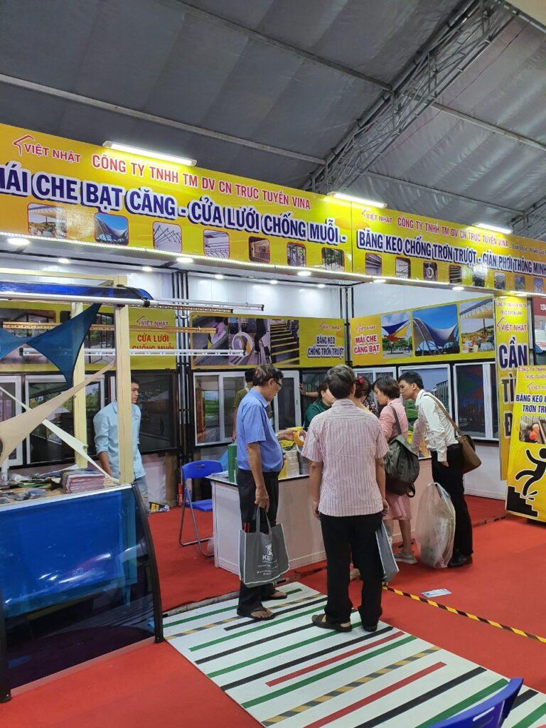 Việt Nhật tham gia hội chợ Vietbuil hằng năm
