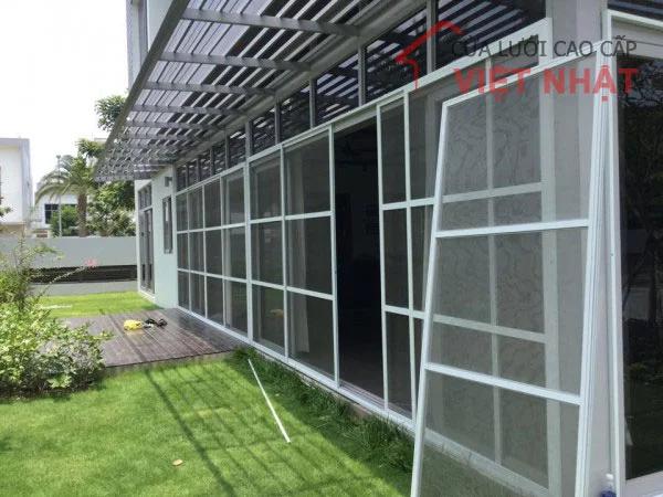 Cửa lưới chống muỗi cố định Việt Nhật