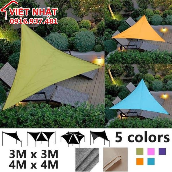 Mái che ngoài trời hình tam giác
