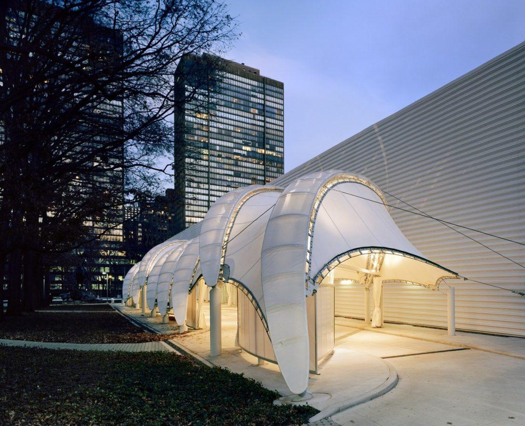 Thiết kế mái che kiến trúc