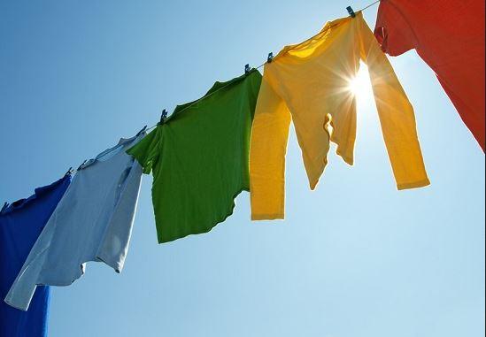 Chọn thời gian thích hợp để phơi quần áo
