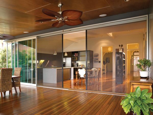 Cửa lùa lưới chống muỗi phòng khách