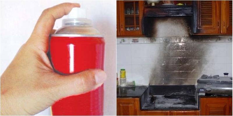 hiểm họa cháy nổ từ dùng thuốc diệt côn trùng