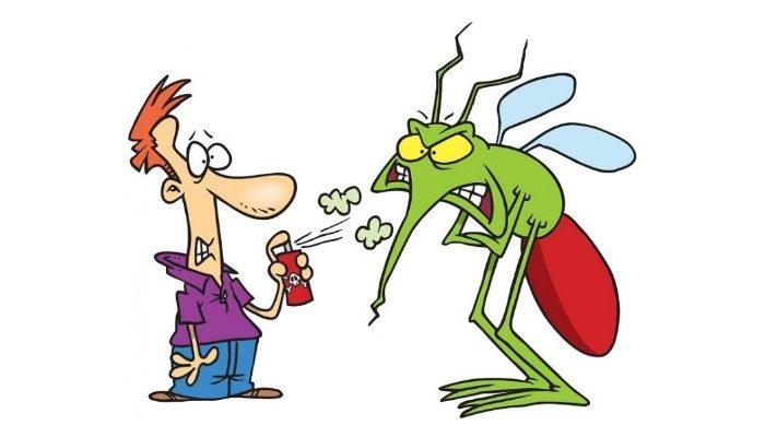 Chú ý cẩn thận trong quá trình xịt thuốc chống muỗi