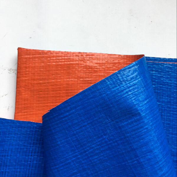 Bạt xanh cam khổ 2m